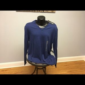Claiborne XL Long Sleeve V-Neck Sweater